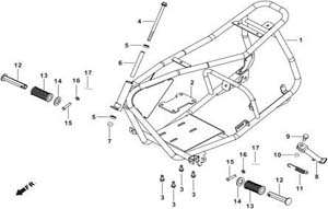 baja motor sports 97cc | db30 | doodle bug parts - vin lrpr 97cc engine diagram