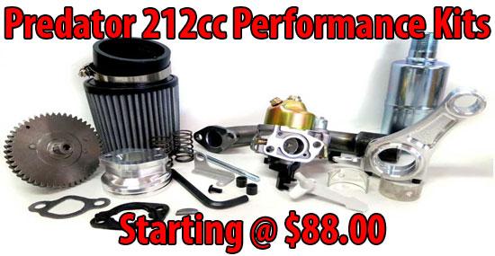 Predator 212cc Performance Parts