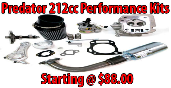 Predator 212cc Performance Parts