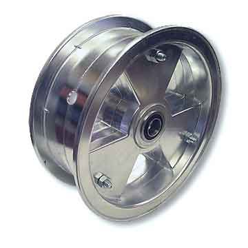 "8"" AZUSA Tri-Star Wheel, 3"" Wide With 3/4"" Sealed Ball Bearing"