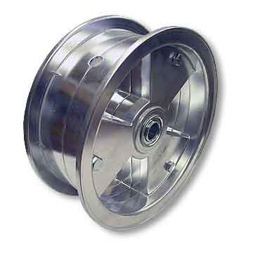"8"" AZUSA Tri-Star Wheel, 3"" Wide With 5/8"" Standard Ball Bearing"
