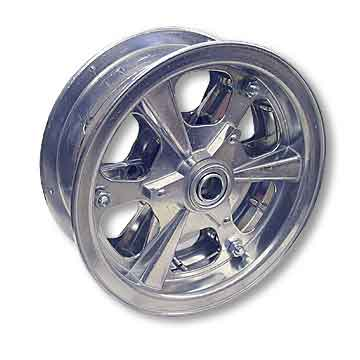 "8"" AZUSA Spinner Wheel, 3"" Wide With 3/4"" Standard Ball Bearing"