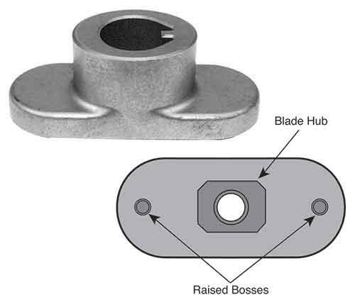 Blade adapter mtd mtd omb warehouse - Kit mulching universel ...
