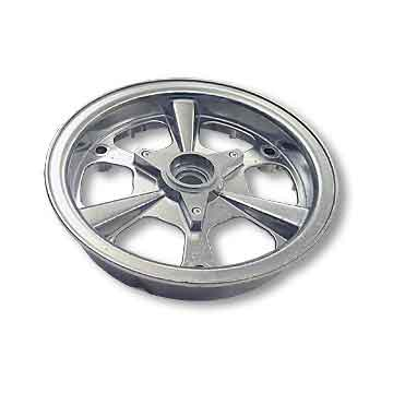 "8"" AZUSA Spinner Wheel, One Half Only, Side 1"