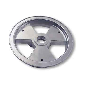 "8"" AZUSA Tri-Star Wheel, One Half Only, Ball Bearing Style"