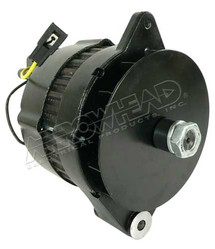 Alternator for Refrigeration, Marine IR/EF, 12-Volt, 72 Amp
