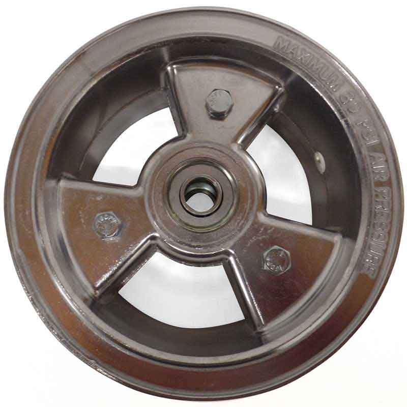 "6"" AZUSA Tri-Star Wheel, 3"" Wide With 5/8"" Ball Bearings"