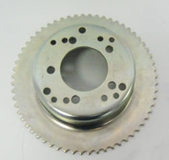 "#35 60T 4-1/2"" Sprocket Drum for Tristar Wheel Internal Brake"