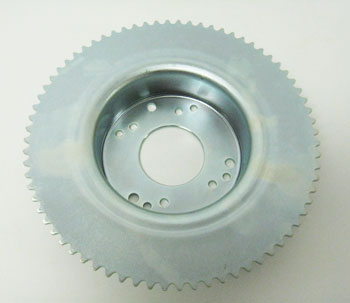 "#35 72T 4-1/2"" Sprocket Drum for Band Brake"