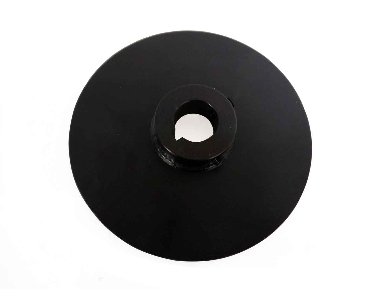 "Disc Only, 6"" Diameter, 1"" Bore, 1/8"" Thick"