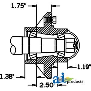 78 besides Hub And Spindle Assembly Q633 further 50 255 06 moreover Honda Gx670 Fuel Line Diagram moreover Ariens Lawn Edger. on performance lawn mower parts