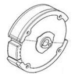 MB200-332 Baja OEM Flywheel Subassembly