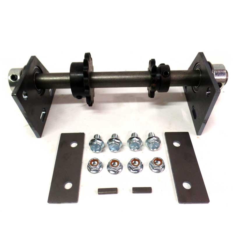 Minibike Adjustable Jackshaft Kit 3 4 35 13t 18t Lock