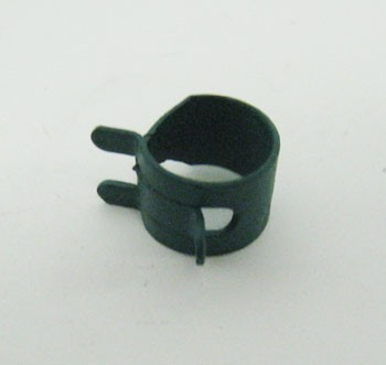 "1/4"" Hose Clamp - Green"
