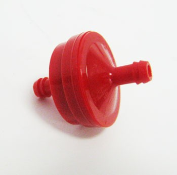 "1/4"" Fuel Filter - Red"