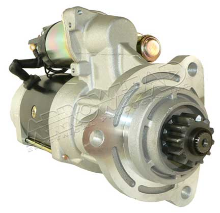 Starter for 39mt series plgr 24 volt cw 12 tooth for Cummins starter motor cross reference