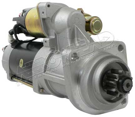 Starter for 38mt series plgr 12 volt cw 10 tooth delco for Cummins starter motor cross reference