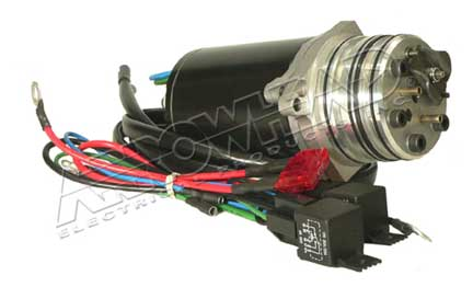 Tilt trim motor for mariner mercury 12 volt tilt for Tilt trim motor not working