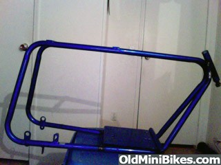 Mini Bike Frame Only (No Fork)
