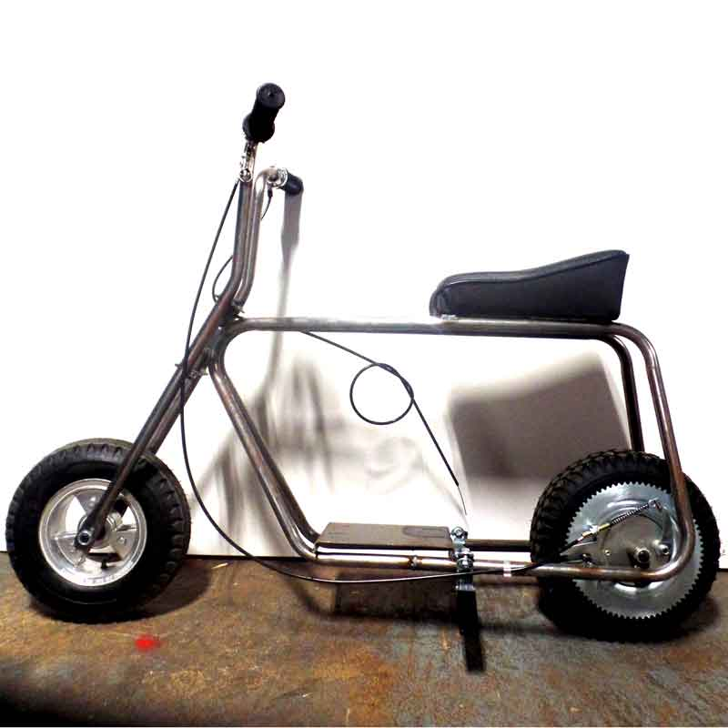 3 Wheel Mini Bike : Azusa minibike kit quot steel wheels go kart mini bike