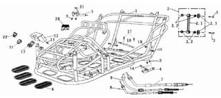 parts for 150cc baja go karts