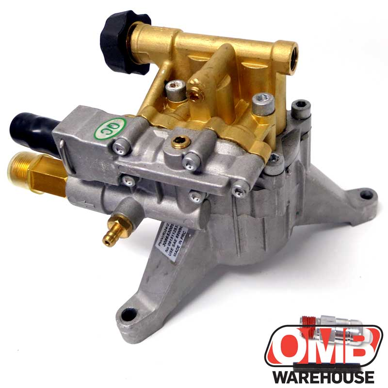 Homelite 2600 PSI Pressure Washer Pump W/ Brass Head